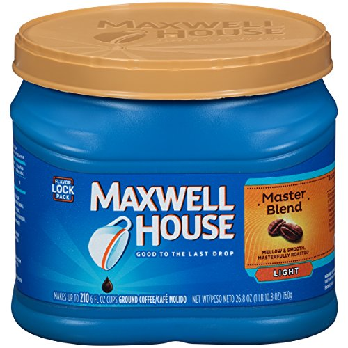 Maxwell House Master Blend Ground Coffee (26.8 oz Canister)