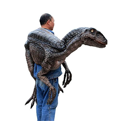 MY DINOSAURS Jurassic Shoulder Dinosaur Puppet Arm (Costumes For Puppets)