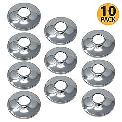 [10-Pack] PROCURU 1/2-Inch CTS Escutcheo...