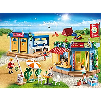 PLAYMOBIL Large Campground Adventure Set: Toys & Games