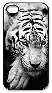 Bue Eyed Tiger Portrait Hard Plastic Back Fits Cover For Samsung Galaxy S6 Case Cover -1122045