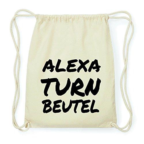 JOllify ALEXA Hipster Turnbeutel Tasche Rucksack aus Baumwolle - Farbe: natur Design: Turnbeutel NNuCdv3Fnt