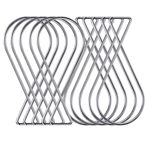 - Chris.W 50Pack Ceiling Hook Clips T-bar Squeeze Hangers Clips Drop Ceiling Clips for Office, Classroom, Home and Wedding Decoration, Hanging Sign from Suspended Tile/Grid/Drop Ceilings