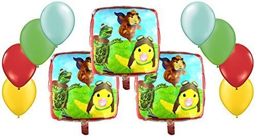 Nickelodeon, The Wonder Pets Mylar and Latex Balloons Bouquet (11 Pcs) by Anagram]()