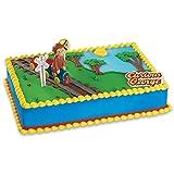 DecoPac Curious George Train DecoSet Cake Decoration