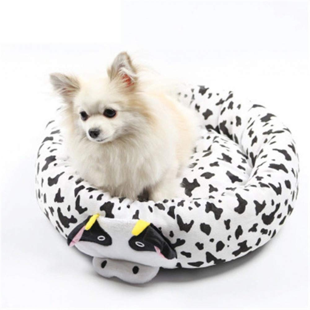 55cm WWSSXX Dog Bed House Sleeping Bed Cat Dog Mat Pad Removable Puppy Warm Pad Cushion Small Kennel
