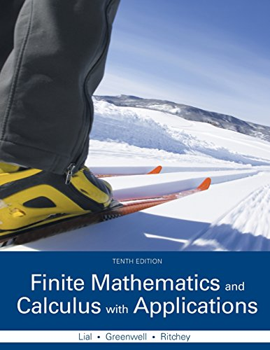 321979400 - Finite Mathematics and Calculus with Applications (10th Edition)