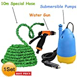 VelVeeta New Portable Home and Car Electric Pressure Washer With Water Gun + 10m Special Hose Pipe + Submersible Pumps