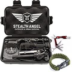 Introducing The Stealth Angel Survival Kit 2.0 - our newest addition to the Stealth Angel Family of Products. Designed and developed by our experts with additional testing and uses, this kit will keep you safe in any situation.  We've heard y...