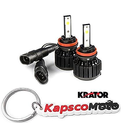 Krator LED H11 Faro Conversión Bombillas 40 W 4000LM ...