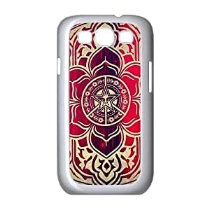 EVA Obey Peace And Justice Ornament Samsung Galaxy S3 I9300 Case,Snap-On Protector Hard Cover for Galaxy S3