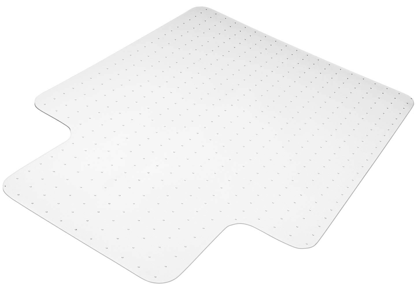 Office Chair Mats 36'' x 48'' Under Desk Chair Mat Transparent, Vinyl Floor Protector for Low,Standard Pile Carpets Protector,Non-Slip, Heavy-Duty | Home, Office