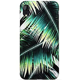VIVIBIN iPhone XR Case,Green Palm Leaves for Girls Women Clear Bumper Soft Silicone Rubber Cute Glossy TPU Cover Slim Fit Best Protective Thin Phone Case for iPhone XR 6.1 inch (B07JNCJLCL) | Amazon price tracker / tracking, Amazon price history charts, Amazon price watches, Amazon price drop alerts
