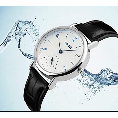 J.Market Quartz Watch Mens Canvas Waterproof Quartz Fashionable Men Watch with Date Function with Canvas Band