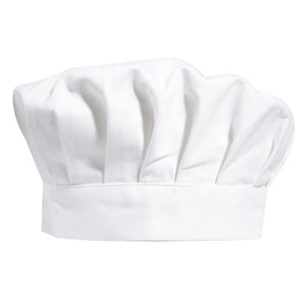 Ruikey Sombrero de Chef para Niños Blanco Ajustable Panadero Elástico  Cocina Cocinero pastelero Sombrero para 5c904c91e73