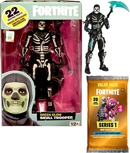 Fortnite Glow Bones Green Figure 7