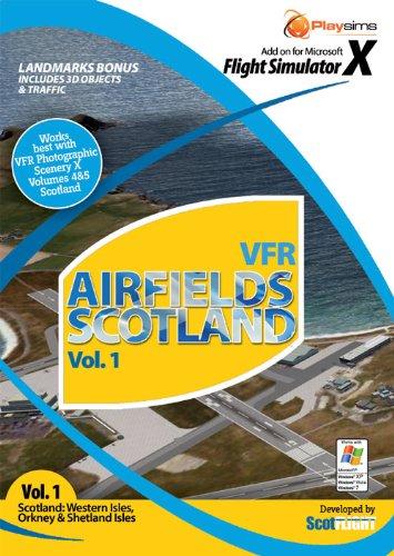 VFR Airfields Scotland vol 1 (PC) (輸入版) B004JMZMOE Parent