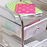 Honey-Can-Do 3-Drawer Plastic Storage Cart on