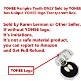 Best Vampire Fangs - YOHEE Cosplay 13mm Vampire Teeth Dentures Halloween Party Review