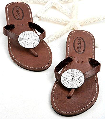 - Women disc thong sandals/Sandy reef thong flip flops/Beaded disc flip flops