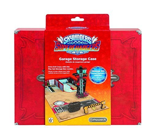 POWER A Skylanders Superchargers Garage Storage Case by BD&A