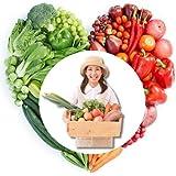 新鮮野菜通販岡山県産(農業女子のおまかせ野菜セット・一部無農薬)3人約1週間分・10品