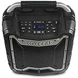 ECOXGEAR EcoTrek GDI-EXTRK210 Rugged Waterproof Floating Portable Bluetooth Wireless 100 Watt Stereo Smart Speaker and PA System (Gray)