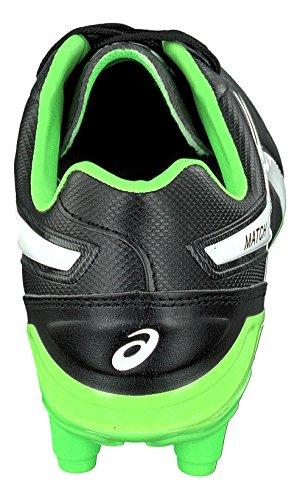 Match CS Rugby Boots - Black/Flash Green