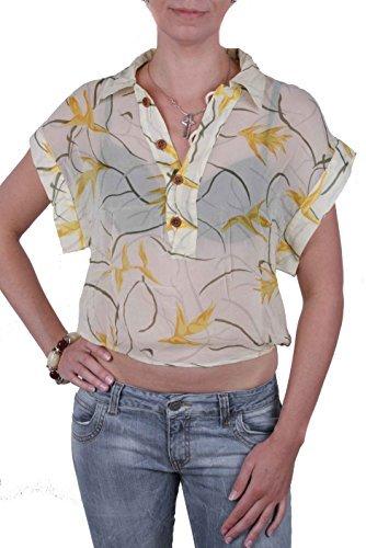 Diesel T-Shirt de femme Cingius Jaune Soie #11