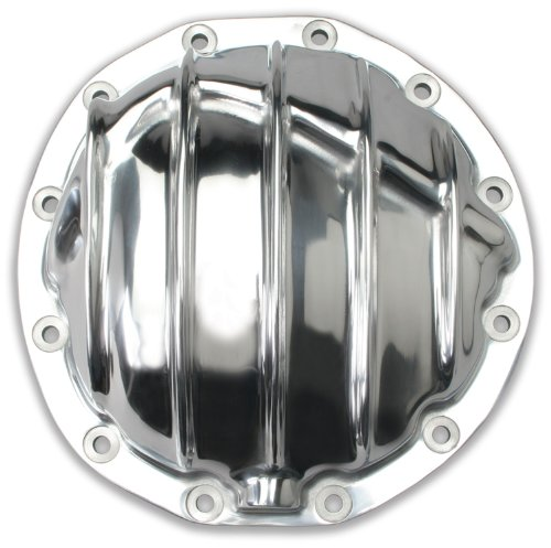 (Trans-Dapt Performance 4835 Polished Aluminum Differential Cover Kit GM 12 Bolt Incl. Cover/Bolts/Gasket Polished Aluminum Differential Cover Kit)