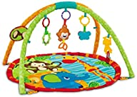 EMILYSTORES Princess Prince Baby Activity Play Gym Mats 30″x30″