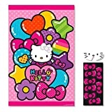 "Hello Kitty Rainbow Birthday Party Game Multi Color, 11"" x 8.7""."