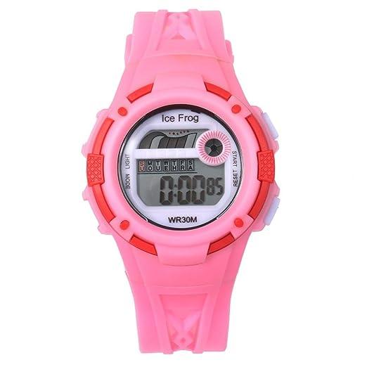 VEHOME Correas Reloj Digital de acción Doble de 30 m. Relojes relojero Reloj reloje hombresRelojes de Pulsera Marcas Deportivos: Amazon.es: Relojes