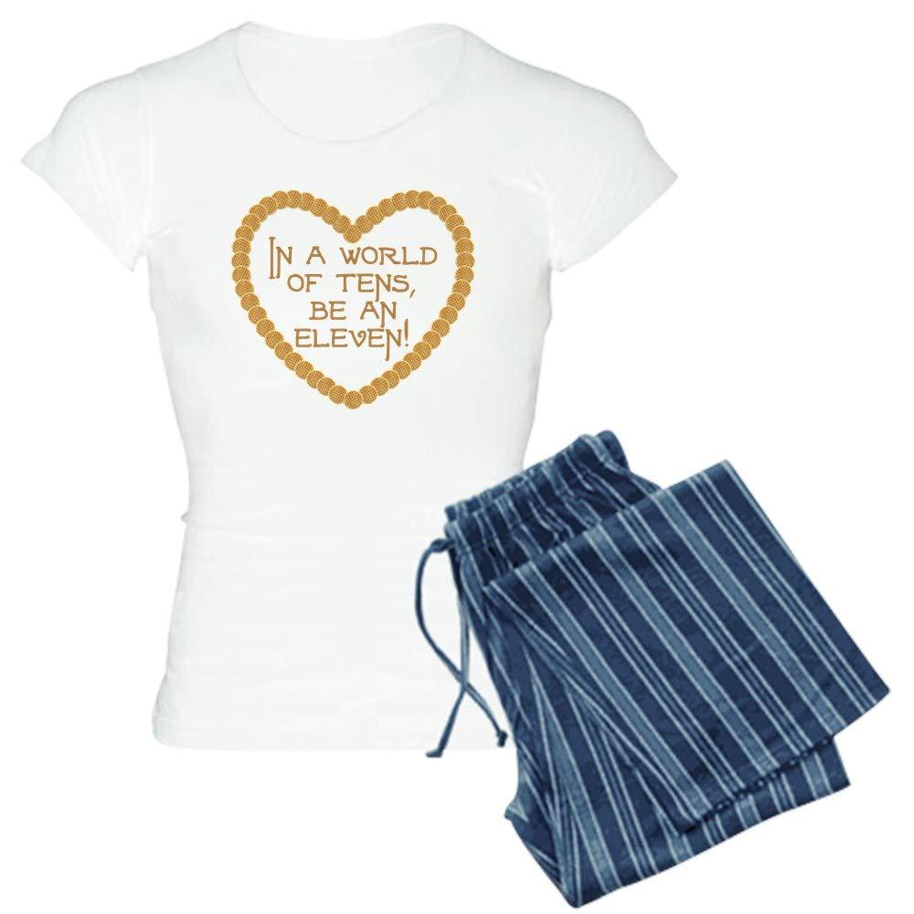 CafePress Stranger Things Be an 11 Pajamas Women's PJs