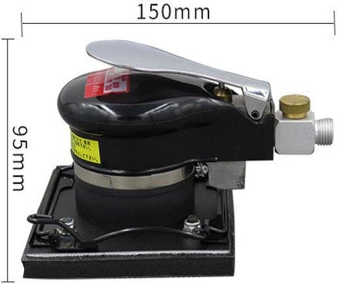 100 110mm Square Pneumatic Sander Sheet Metal Stone Polishing Machine Pneumatic Sander