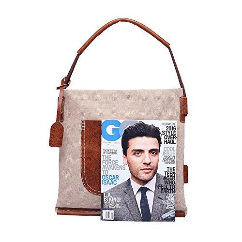 Bag Fashion Women Bag Cloth Men Messenger Shoulder Canvas Handmade Multifunction qAxtF6Hw