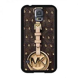 Bling Trendy Michael MK Kors Black Phone Funda Cover For Samsung Galaxy S5 Rivet Style