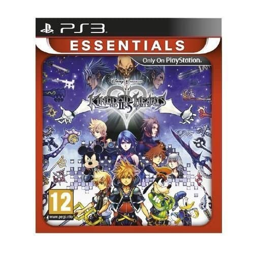 Kingdom Hearts II 2.5 HD Remix Game Essentials (PS3)