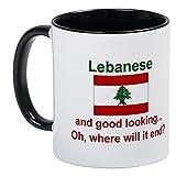 CafePress %2D Good Looking Lebanese Mug