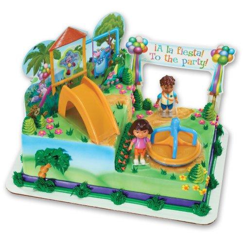[Dora the Explorer - Dora and Diego Play Time Signature DecoSet] (Dora Diego And Boots)