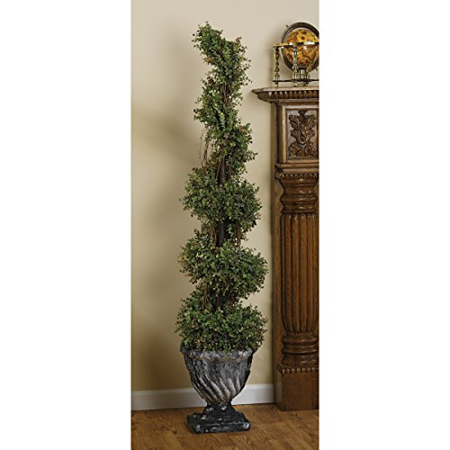 Design Toscano Spiral Topiary Large Tree Urn