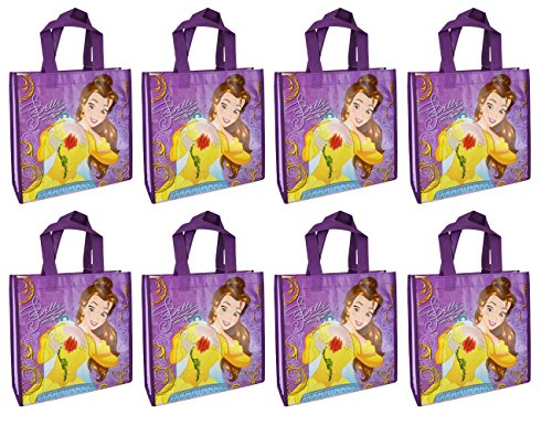 Disney 8-Pack Beauty and The Beast Princess Belle Reusable 1