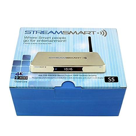 Amazon com: StreamSmart S5 Quad Core 4K ***Limited Release
