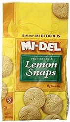 MI-DEL Classic Lemon Snap Cookies 10 oz ...