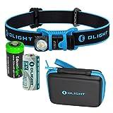 EdisonBright Olight H1 Nova 500 lumen CREE LED headlamp/Utility pocket lamp with CR123A Lithium Battery