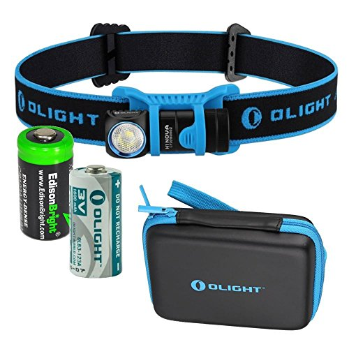 EdisonBright Olight H1 Nova 500 Lumen CREE LED Headlamp/Utility Pocket Lamp