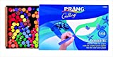 Prang 001314 Ambrite Non-Toxic Colored Drawing Chalk44; Set of 144