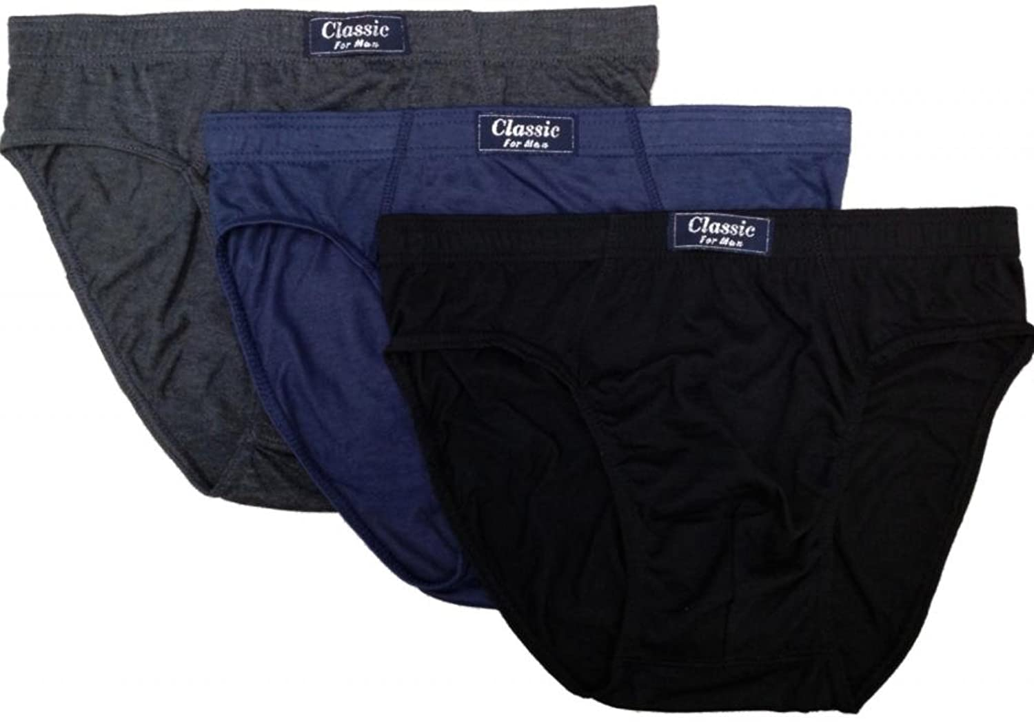 3 Pack Mens Duke D555 Big Tall King Size Y Fronts Cotton Briefs Sizes 2XL-6XL