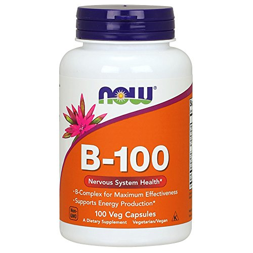 NOW Supplements, Vitamin B-100, 100 Veg Capsules
