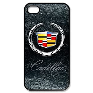 Special design Iphone 4 4s Hard Cover Case,Cadillac logo against Background Snap On